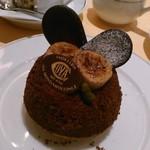 COVA - [料理] チョコ & バナナのタルト 全景♪w