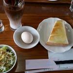 コーヒーハウス ファセンダ - 料理写真:モーニングセットS