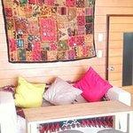 カフェ トピナンブール - 洋室のソファー席
