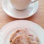 カフェ トピナンブール - 食後はシュトレン&コーヒー