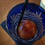 珈琲香房 楽風 - 氷が珈琲で作られているので、解けても薄まらない