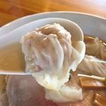 麺処 清水 - ワンタン拡大