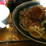 62143138 - 肉うどんセット850円