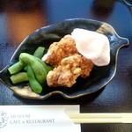 桜茶寮 - 生ビールセット:950円