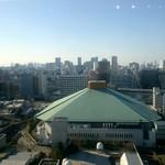 桜茶寮 - カウンター席からの眺め
