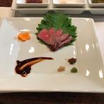 ビフテキのカワムラ - 神戸牛のローストビーフ