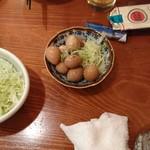 鶏唐 やまをんち - 煮玉子