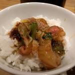 宇和島鯛めし 丸水 - 鯛めしアップ!       白いご飯が進みます!
