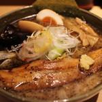 札幌 みその - シビレ味噌らーめん味玉入り 1050円。