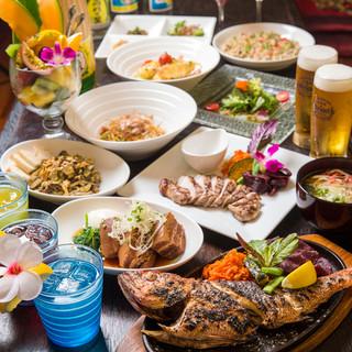 【沖縄料理】県産食材を使った名物&創作料理!
