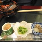 日本料理 大和屋三玄 - 寿司の突き出し