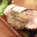 ちぃりんご - 網焼き長芋 カニ味噌かけ