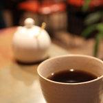NAYA - セットのコーヒー。2010年12月撮影。