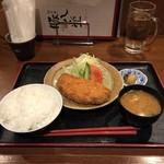 62150538 - 塩麹ロースとんかつ(税込1300円)