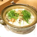 赤坂あじさい - 庄内芋煮 山形県産豚肉 おかひじき