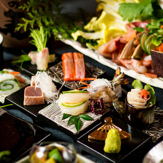 新鮮な鮮魚や地鶏を丹精込めて…会席コース3000円~ご提供!
