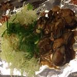 越田 - 牡蠣焼たまりません。広島の名産!
