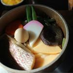 釜めし蔵 - 料理写真:鯛釜飯