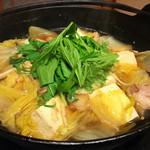 Honoka - 土佐はちきん地鶏 柚子コショー鍋