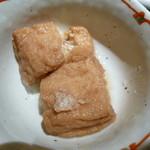Rabu - 小鉢(油揚げ煮物)