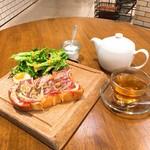WEEKEND BRUNCH BANQUET - ピザトーストセット  ウィークエンド