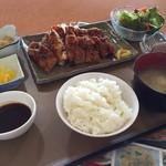 62157295 - BIGチキンカツ定食@850円