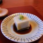 歳一六 - 山葵が合う蕎麦豆腐