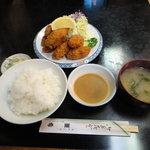 亜希 - かきふらい定食
