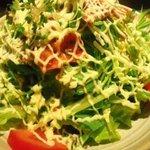 6216245 - 京みずなとぱりぱりベーコンのサラダ
