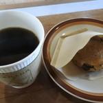 カミノコーヒー - camino Coffeeブレンドとスコーン