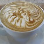 カミノコーヒー - カフェラテ
