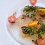 """本日の鮮魚の""""カルパッチョ""""風"""