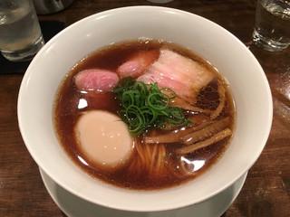 創作麺工房 鳴龍 - 「醤油拉麵」750円