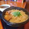 らーめん一丁亭 - 料理写真:豚骨魚介つけ麺(特盛アツ)