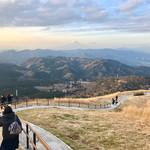 62161209 - 大室山山頂から見る富士山