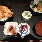 台所屋 - 天丼御膳 1180円!