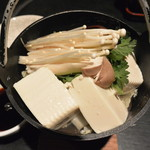 台所屋 - 豆腐と野菜のヘルシー鍋 880円!