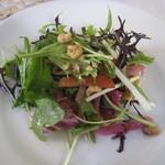62162049 - 前菜:鎌倉野菜のサラダ