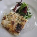 62162053 - 前菜:里芋とゴルゴンゾーラのグラタン