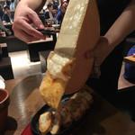 バルバル - ラクレットチーズ1,380円