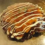 もんじゃ焼き 眞田 - ジャガイモのお好み焼きなのだ!ポテトチーズ玉♡