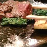 車屋 - [料理] フィレステーキ 一口大 アップ♪w