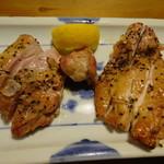 なな穂 - 鶏モモ塩焼き