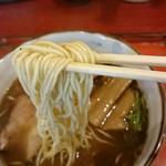 ラーメン考房 昭和呈 - 新飛魚正麺、醤油