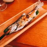 雲峰荘 - ヤマメ:一味違う味噌味で