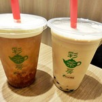 彩茶房 - 岩塩チーズ蜜香紅茶&タピオカミルクティー