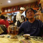 シルクロード・タリムウイグルレストラン - 戦いを終えバラの紅茶を。