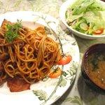 旬菜茶房 セリーヌ - 料理写真:オールドスパゲティナポリタン!