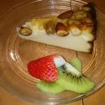 ラ ステラ - アーモンド入りチーズケーキ!