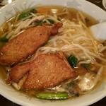 三和楼 - 排骨サンマー麺です♪